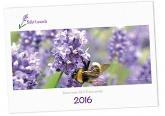 Salut Lavende Kalender 2016